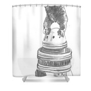 Kong The Eighth Wonder Shower Curtain