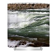 Kootenai Falls Shower Curtain