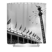 Kopenhavn De Tivoli Gardens 32 Shower Curtain