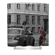 Kopenhavn Denmark 80 Shower Curtain