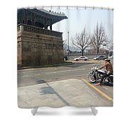 Korea Shower Curtain