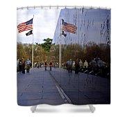 Korea Memorial Shower Curtain