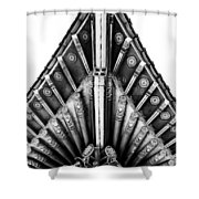 Korean Bell Of Friendship Pavilion Shower Curtain