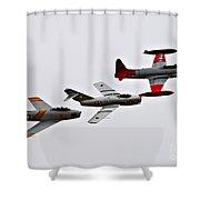 Korean War Flight Shower Curtain