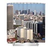 Koreatown Area Of Los Angeles California Shower Curtain