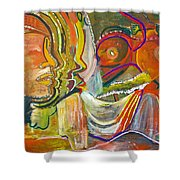 Koulikoro Woman Shower Curtain