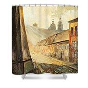 Krakow- Kanonicza Street Shower Curtain