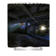 Krampnitz Barracks Shower Curtain