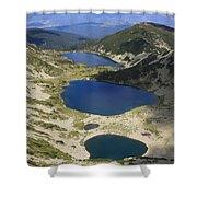 Kremenski Lakes Pirin National Park Bulgaria  Shower Curtain