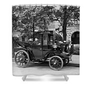 Krieger Electric Carriage Shower Curtain