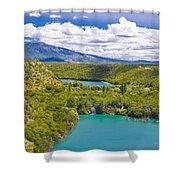 Krka River National Park Canyon Shower Curtain