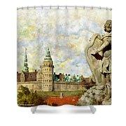 Kronborg Castle Shower Curtain
