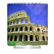 K.straiton Colosseum, Rome Shower Curtain