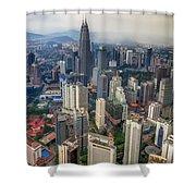 Kuala Lumpur City Shower Curtain