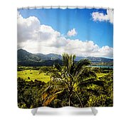 Kuhio Hwy Outlook Shower Curtain