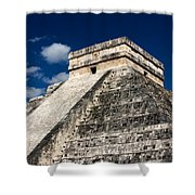 Kukulkan Pyramid At Chichen Itza Shower Curtain