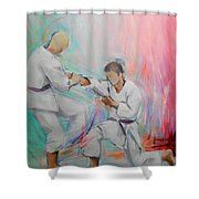 Kumite Shower Curtain