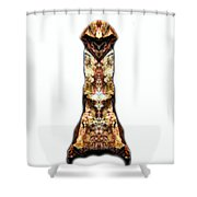 Kung Fu Cat Shower Curtain