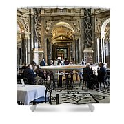 At The Kunsthistorische Museum Cafe II Shower Curtain