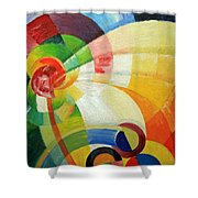 Kupka's Untitled Shower Curtain