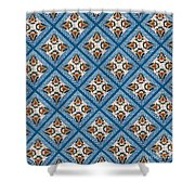 Kurbits Squares Shower Curtain