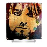 Kurt Cobain 3 Shower Curtain
