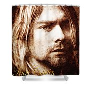 Kurt Cobain Shower Curtain