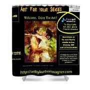 Kurt Van Wagner Website Shower Curtain