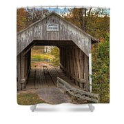 Ky Hillsboro Or Grange City Covered Bridge Shower Curtain