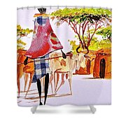 L 105 Shower Curtain