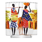 L 106 Shower Curtain