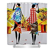 L 123 Shower Curtain