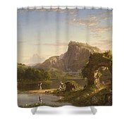 L Allegro Shower Curtain