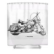 Hydra Glide Shower Curtain