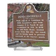 La-032 Donaldsonville Shower Curtain