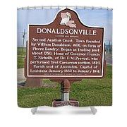 La-033 Donaldsonville Shower Curtain