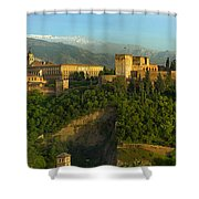 La Alhambra Palace Shower Curtain