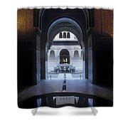 La Alhambra Patio De Los Leones Shower Curtain