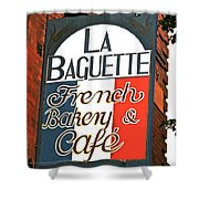 La Baguette Shower Curtain
