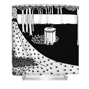La Beale Isoud At Joyous Gard Shower Curtain