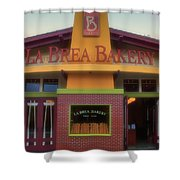 La Brea Bakery Downtown Disneyland Shower Curtain