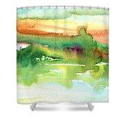 La Camargue 14 Shower Curtain