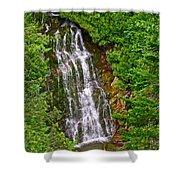 La Chute In Forillon Np-qc Shower Curtain