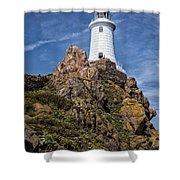 La Corbiere Lighthouse Shower Curtain