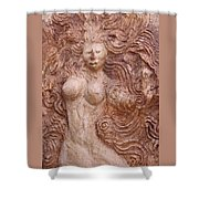 La Diosa 1 Shower Curtain