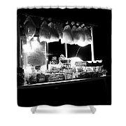 La Dolce Notte Shower Curtain by Chiara Corsaro