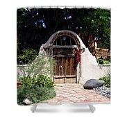 La Entrada A La Casa Vieja De Mesilla Shower Curtain