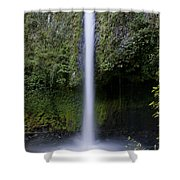 La Fortuna Waterfall  Shower Curtain