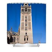 La Giralda Bell Tower In Seville Shower Curtain