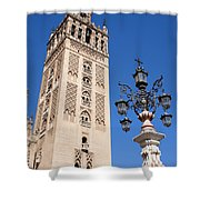 La Giralda Cathedral Tower In Seville Shower Curtain